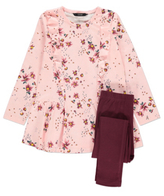 George Floral Dress and Leggings Set
