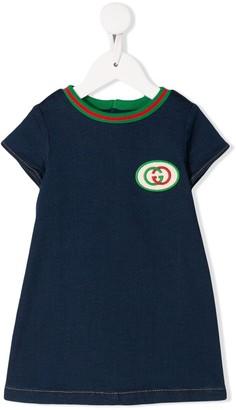 Gucci Kids GG logo jersey dress