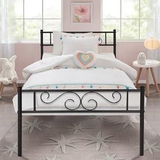 Fleur De Lis Living Semple Living Metal Platform Bed Fleur De Lis Living Size: Twin