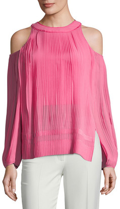 Semsem Maryam Cold-Shoulder Top