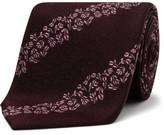 Paul Smith Floral Stripe Tie