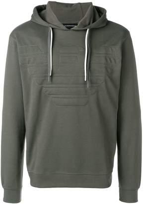 Emporio Armani logo hoodie