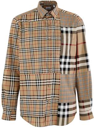 Burberry Chalkstone long-sleeved shirt