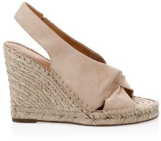Joie Kaili Suede Platform Wedge Espadrille Sandals