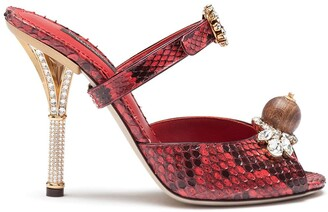 Dolce & Gabbana Jewel-Embellished Sandals