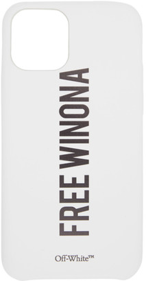 Off-White White Sentences iPhone 11 Pro Case