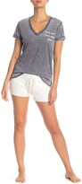 PJ Salvage Feather Touch Lounge Shorts