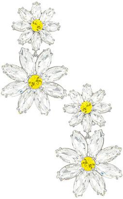 For Love & Lemons Marguerite Crystal Earrings