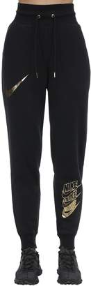 Nike NSW BB SHINE METALLIC LOGO SWEATPANTS