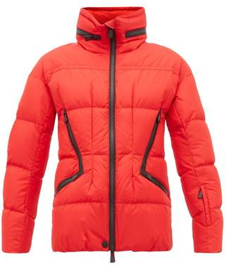 Moncler Dixence Down-filled Ski Jacket - Womens - Red Multi