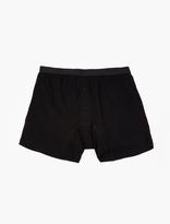Comme des Garcons CDG Shirt x Sunspel Black Cotton Boxer Shorts