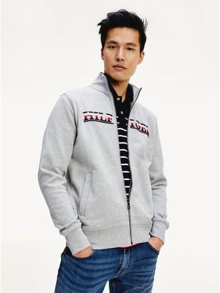 Tommy Hilfiger Embroidered Logo Zip Sweatshirt