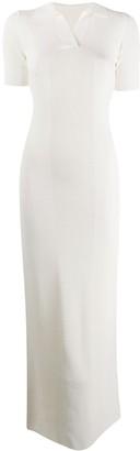 Jacquemus Knitted Short-Sleeve Dress