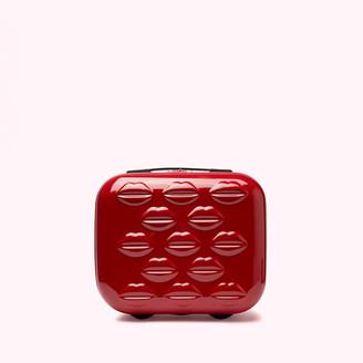 Lulu Guinness Women's Hardside Vanity Case - Classic Red