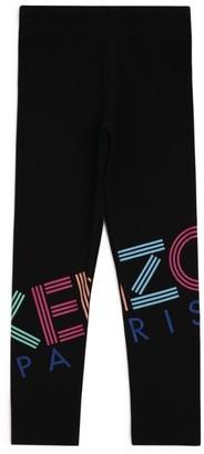 Kenzo Rainbow Logo Leggings (2-14 Years)