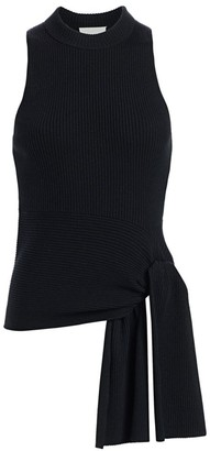 3.1 Phillip Lim Rib-Knit Sleeveless Wool-Blend Pullover