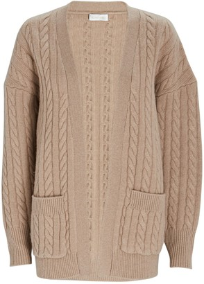 Ronny Kobo Penny Cable Knit Wool Cardigan
