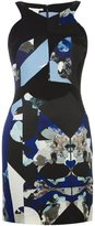 Antonio Berardi printed fitted dress