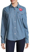 Canadian Paralympic Team Collection Womens Denim Shirt