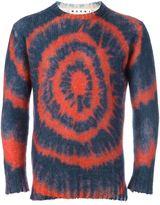 Marni tie-dye jumper - men - Polyamide/Mohair/Wool - 48