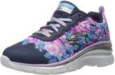 Skechers Girls' Fashion Fit Wedge Sneaker 12 M US