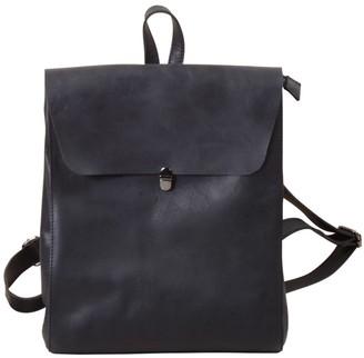 Touri Genuine Leather Slim Backpack