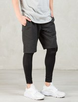 Publish Black Danson Shorts With Legging