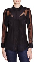 Charlie Jade Button Down Blouse - 100% Bloomingdale's Exclusive