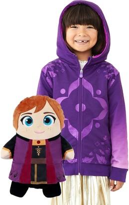 Cubcoats x Disney 'Frozen' Anna 2-in-1 Stuffed Animal Hoodie