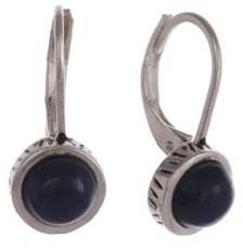 The Sak Silver-Tone Leverback Earrings