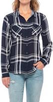 Lucky Brand Woven Plaid Shirt - Long Sleeve (For Women)