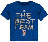 Majestic New York Mets The Best Team T-Shirt, Toddler Boys (2T-4T)