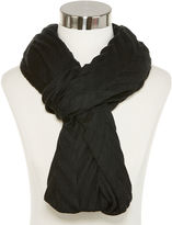 Asstd National Brand Chevron Pleat Infinity Scarf