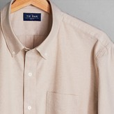 The Tie Bar Taupe The All-Purpose Oxford Shirt