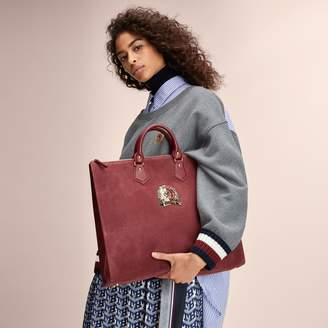 Tommy Hilfiger Leather Crest Tote