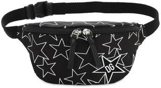 Dolce & Gabbana Star Printed Nylon Belt Bag
