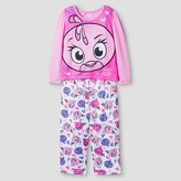 Angry Birds Girls' Angry Birds Stella Pajama Set