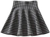 Imixshopcs Womens Basic Versatile Stretchy Flared Skater Skirt