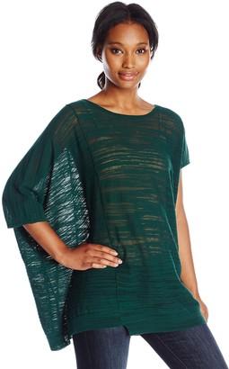 Joan Vass Women's Asymmetric Sweater