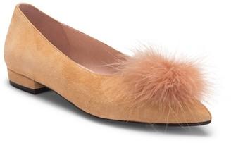 Patricia Green Maribou Feather Pouf Flat