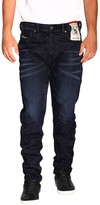 Diesel Jeans D-vider Stretch Jeans With Low Crotch And Velvet Treatment