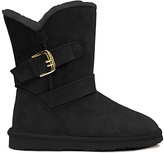 Lamo Black Flintlock Suede Boot - Women