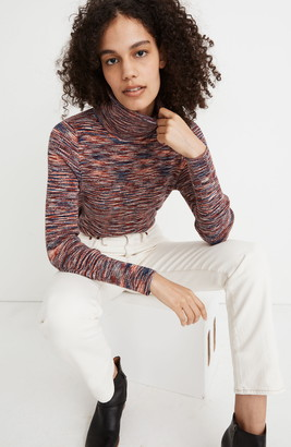 Madewell Space Dye Robeson Turtleneck Sweater