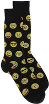 Hot Sox Men's Emoji Dress Socks