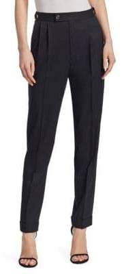 Helmut Lang Pleated Tapered Pants