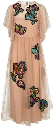 RED Valentino Butterfly Lace Dress