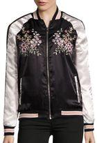 C&C California Embroidered Bomber Jacket