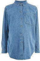 Topshop Maternity oversized pocket shirt