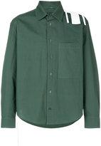 Craig Green striped detail shirt