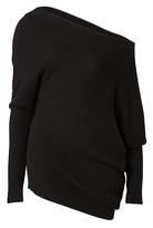 Witchery Asymmetric Shoulder Knit